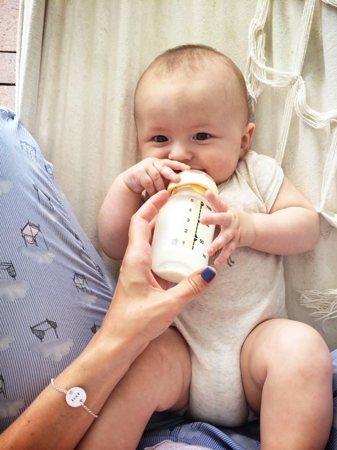 ge bebis vatten